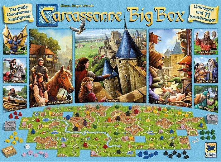 Carcassonne - Big Box (d)