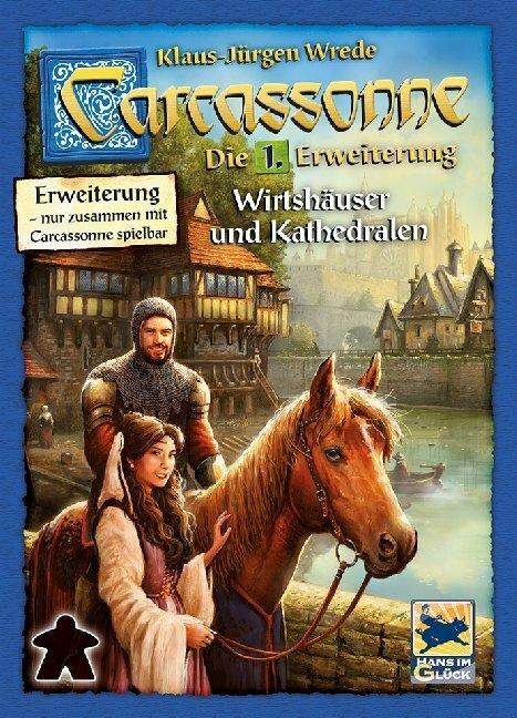 Carcassonne, Wirtshäuser und Kathedralen - Erweiterung 1. Neue Edition