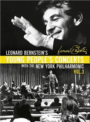 New York Philharmonic & Leonard Bernstein (1918-1990) - Bernstein - Young Peoples Concerts. Vol. 3 (Unitel Classica, 7 DVDs)