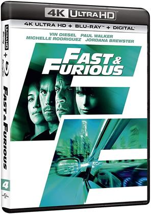 Fast and Furious 4 - Solo parti originali (2009) (4K Ultra HD + Blu-ray)