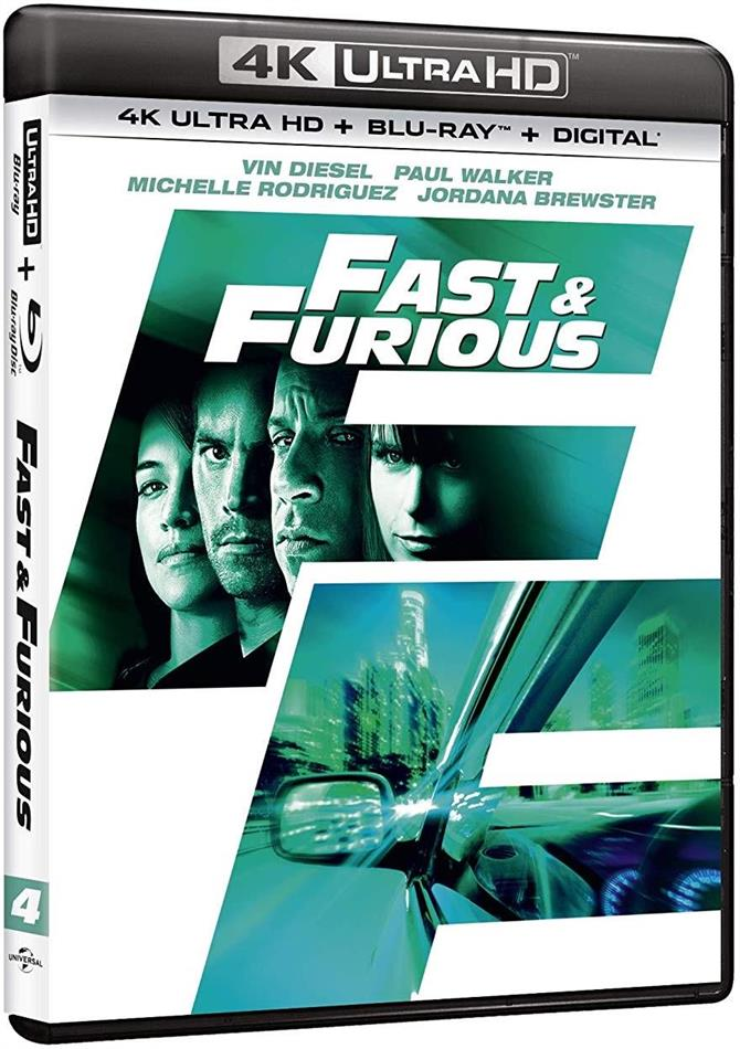Fast and Furious 4 - Solo parti originali (2009) (4K Ultra HD + Blu-ray)