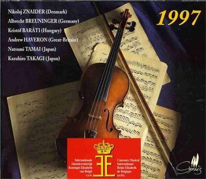 Znaider, Breuninger, Barati, Haveron & Tamai - Queen Elisabeth Of Belgium Violin Competition 1997