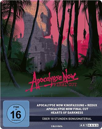 Apocalypse Now (1979) (Final Cut, Arthaus, Versione Cinema, Edizione Limitata 40° Anniversario, Steelbook, 4 Blu-ray)
