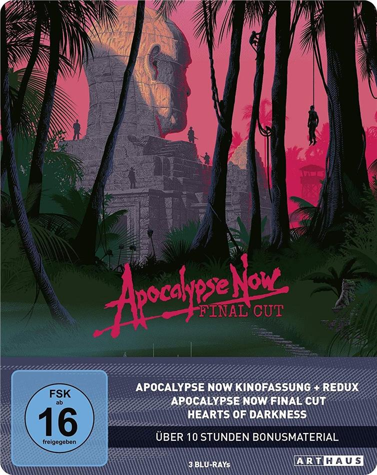 Apocalypse Now (1979) (Final Cut, Arthaus, Kinoversion, 40th Anniversary Limited Edition, Steelbook, 4 Blu-rays)