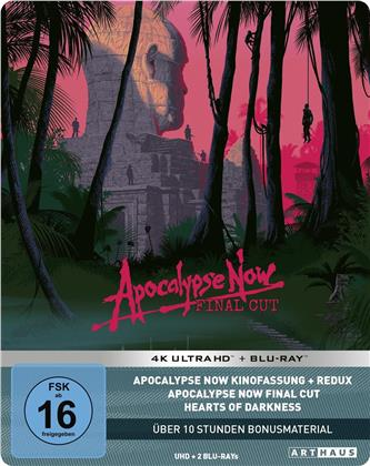 Apocalypse Now (1979) (Final Cut, Kinoversion, 40th Anniversary Limited Edition, Steelbook, 2 4K Ultra HDs + 4 Blu-rays)