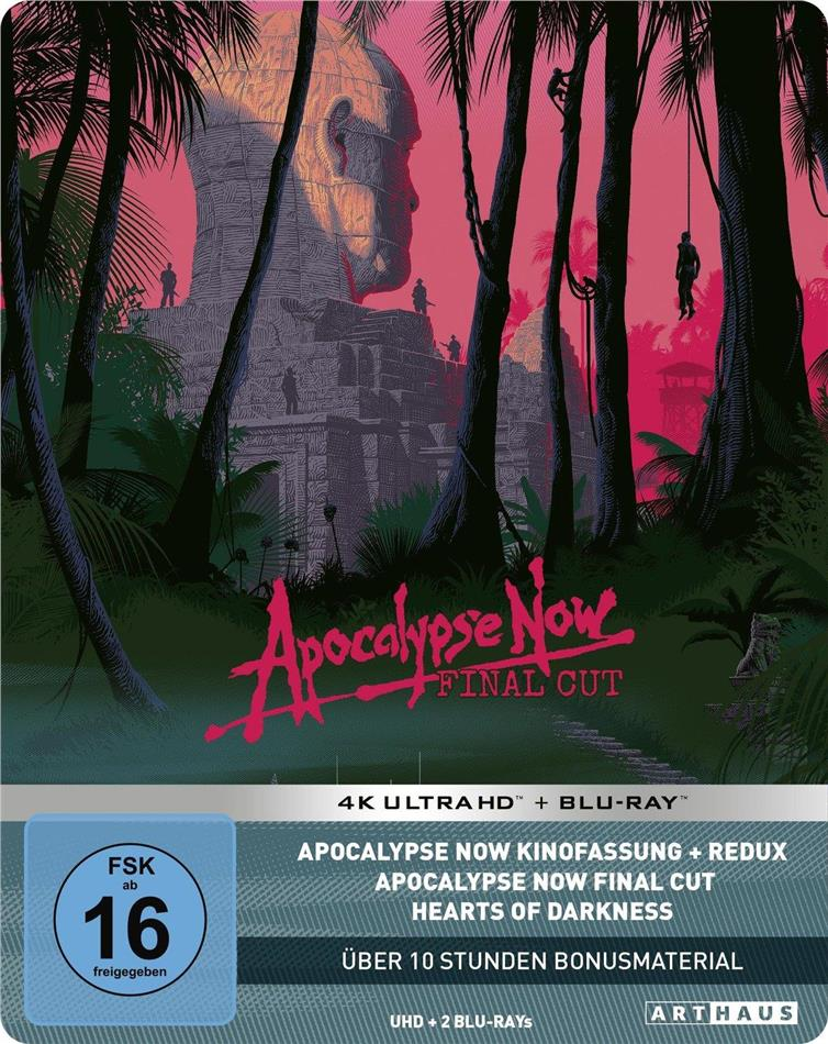Apocalypse Now (1979) (Final Cut, Versione Cinema, Edizione Limitata 40° Anniversario, Steelbook, 2 4K Ultra HDs + 4 Blu-ray)