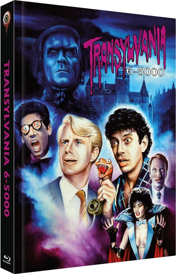 Transylvania 6-5000 (1985) (Cover C, Limited Collector's Edition, Mediabook, Uncut, Blu-ray + DVD)