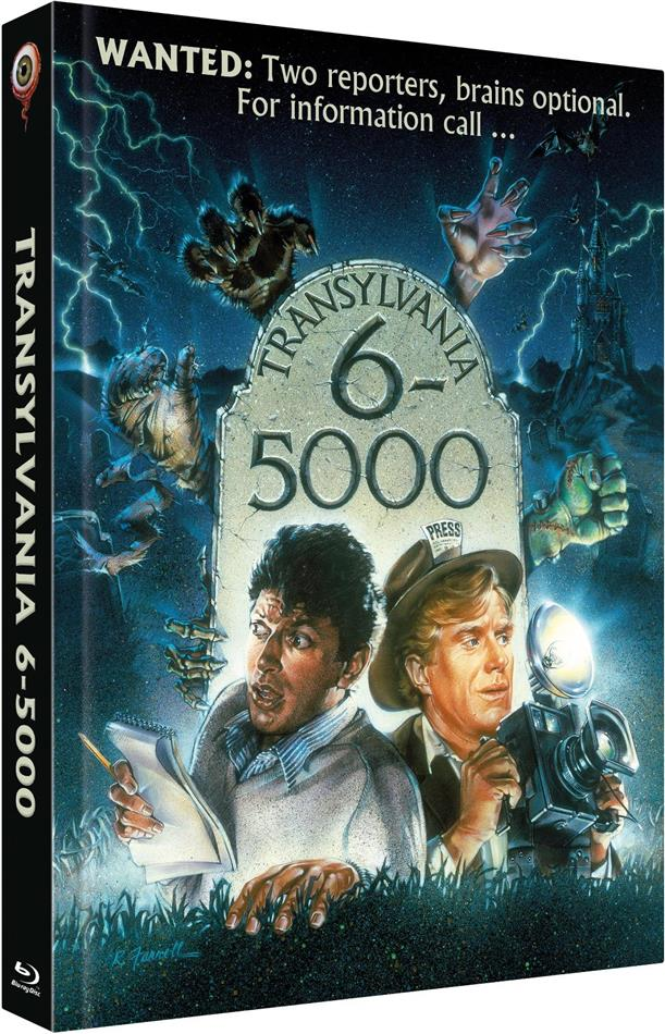 Transylvania 6-5000 (1985) (Cover A, Limited Collector's Edition, Mediabook, Uncut, Blu-ray + DVD)