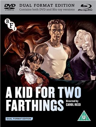 A Kid For Two Farthings (1955) (DualDisc, s/w, Blu-ray + DVD)