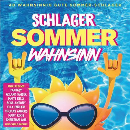 Schlager Sommer Wahnsinn (2 CDs)