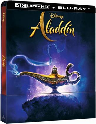 Aladdin (2019) (Limited Edition, Steelbook, 4K Ultra HD + Blu-ray)
