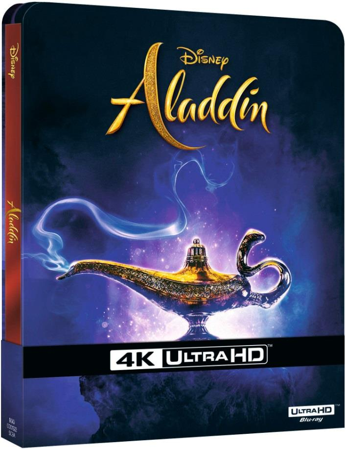 Aladdin (2019) (Limited Edition, Steelbook, 4K Ultra HD + Blu-ray)