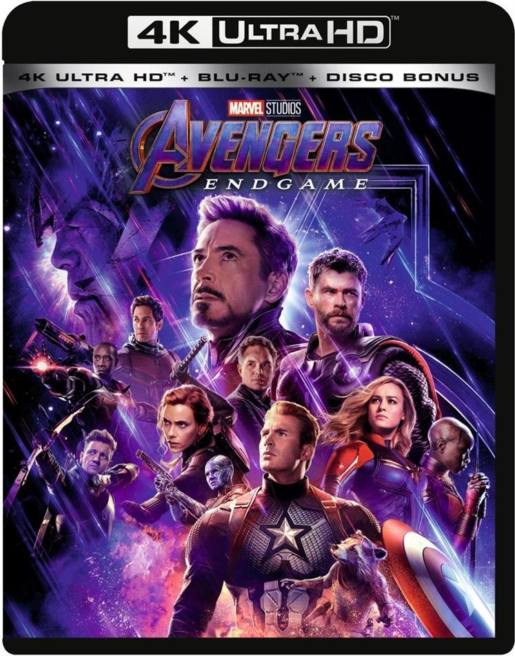 Avengers 4 - Endgame (2019) (4K Ultra HD + 2 Blu-rays)