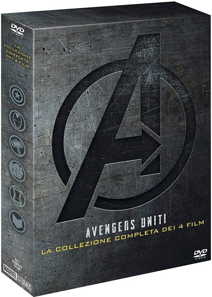 Avengers 1-4 - Collezione 4 Film (4 DVDs)