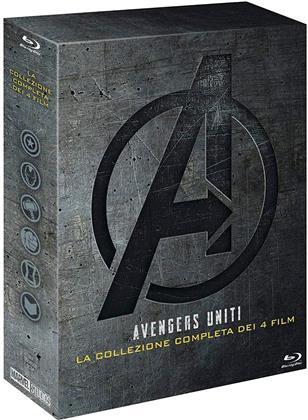 Avengers 1-4 - Collezione 4 Film (5 Blu-rays)