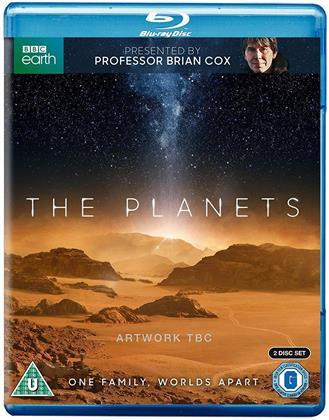 The Planets (2019) (BBC Earth, 2 Blu-ray)