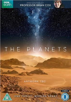 The Planets (2019) (BBC Earth, 2 DVD)
