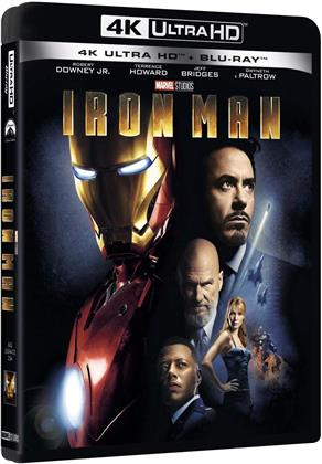 Iron Man (2008) (4K Ultra HD + Blu-ray)