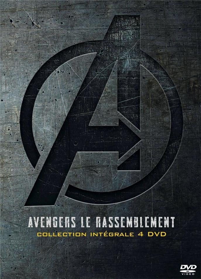 Avengers 1-4 - Le rassemblement (4 DVDs)