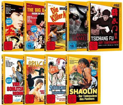 Asia Line - Komplettpaket Vol. 1 (9 DVDs)