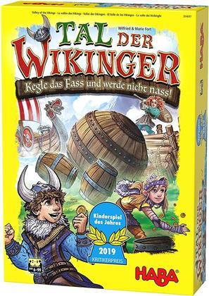 Tal der Wikinger - Kegle das Fass und werde nicht nass!