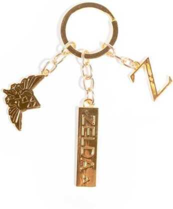Zelda - Ladies Metal Charm Keychain