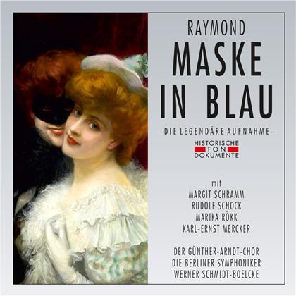 Fred Raymond, Werner Schmidt-Boelcke, Margit Schramm, Marika Rökk, Rudolf Schock, … - Maske In Blau - Berlin 1960 (2 CDs)