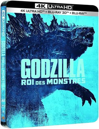 Godzilla 2 - Roi des Monstres (2019) (Edizione Limitata, Steelbook, 4K Ultra HD + Blu-ray 3D + Blu-ray)