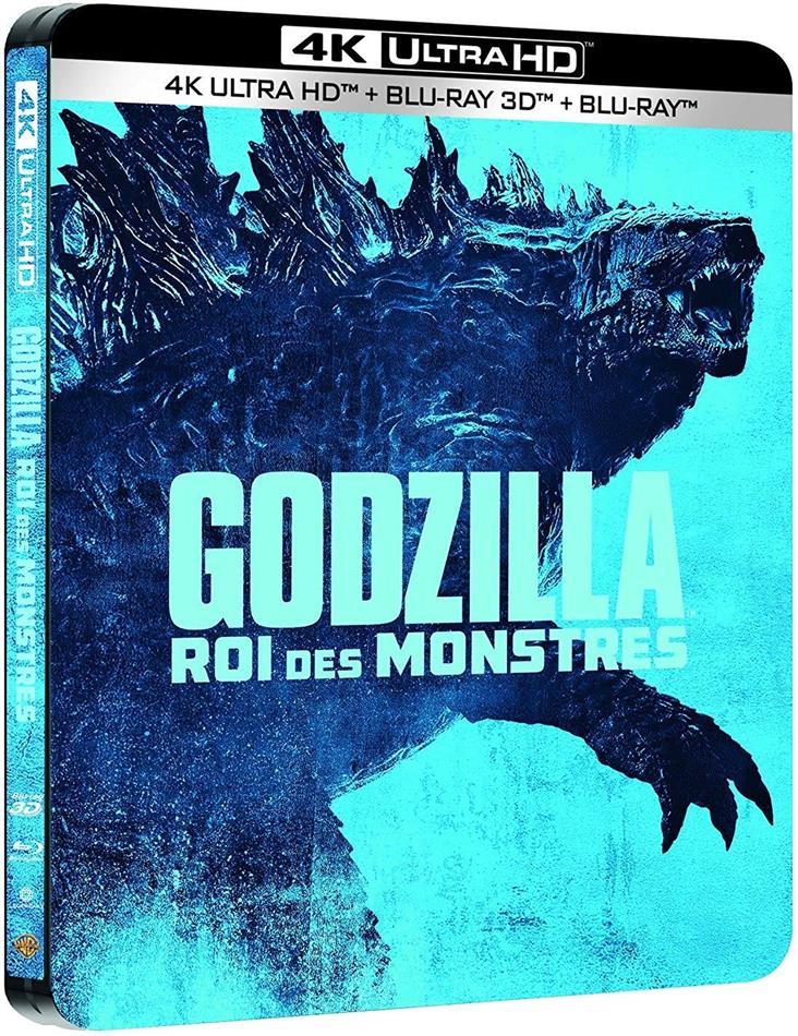 Godzilla 2 - Roi des Monstres (2019) (Limited Edition, Steelbook, 4K Ultra HD + Blu-ray 3D + Blu-ray)