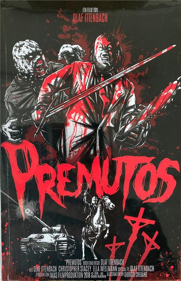 Premutos (1997) (Grosse Hartbox, Cover A, Director's Cut, Limited Edition, Blu-ray + DVD)