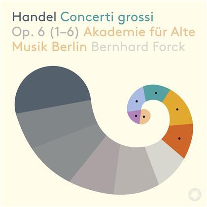Georg Friedrich Händel (1685-1759), Bernhard Forck & Akademie für Alte Musik Berlin - Concerti Grossi Op.6 (1-6 (SACD)