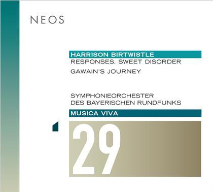 Harrison Birtwistle (*1934) & Symphonieorchester des Bayerischen Rundfunks - Musica Viva 29 - Responses, Sweet Disorder, Gawain's Journey (SACD)