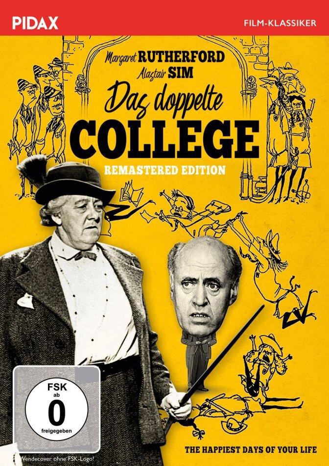 Das doppelte College (1950) (Pidax Film-Klassiker, Remastered)