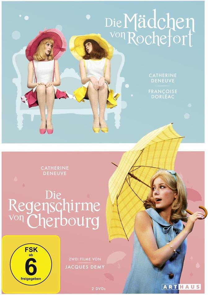Die Mädchen von Rochefort / Die Regenschirme von Cherbourg (2 DVDs)