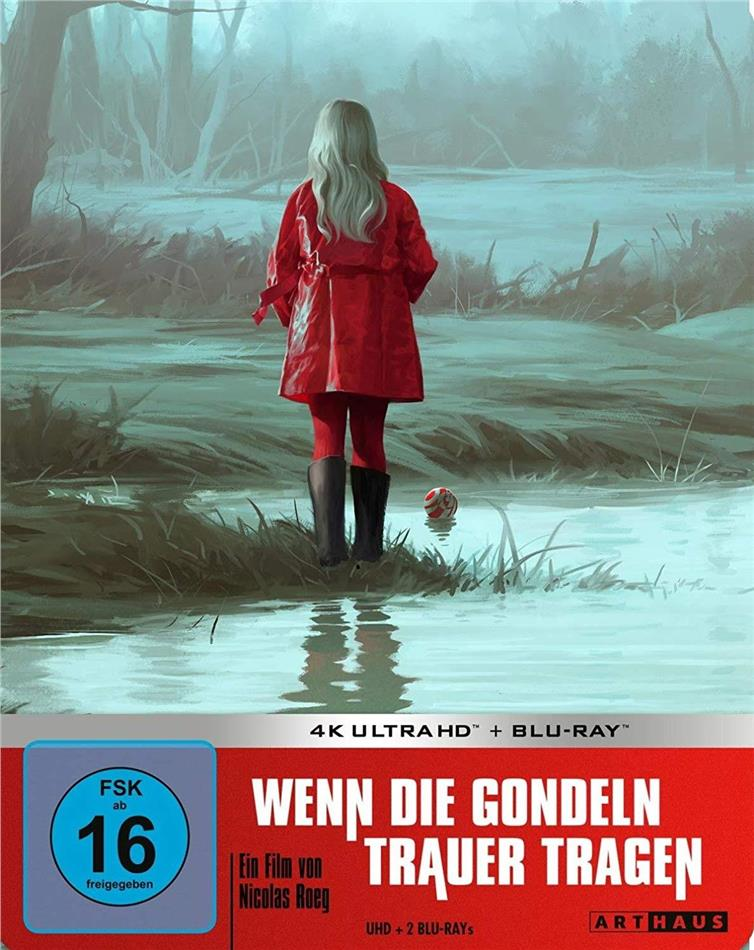 Wenn die Gondeln Trauer tragen (1973) (Limited Edition, Steelbook, 4K Ultra HD + 2 Blu-rays)