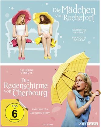 Die Mädchen von Rochefort / Die Regenschirme von Cherbourg (2 Blu-rays)
