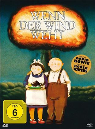Wenn der Wind weht (1986) (Limited Edition, Mediabook, Blu-ray + DVD)