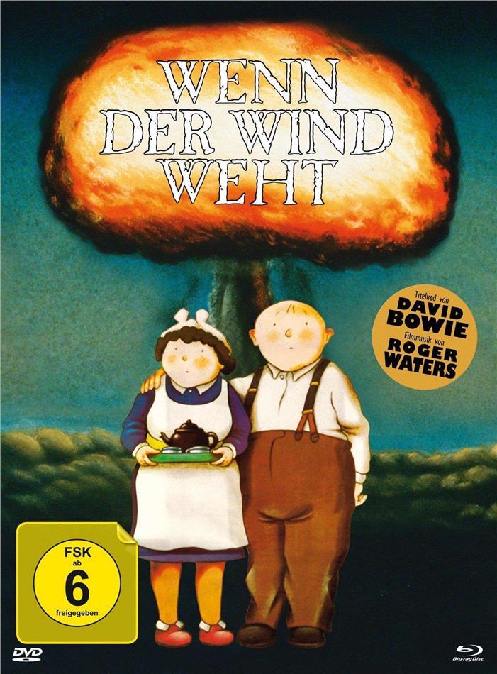 Wenn der Wind weht (1986) (Limited Edition, Mediabook, Blu-ray + DVD)
