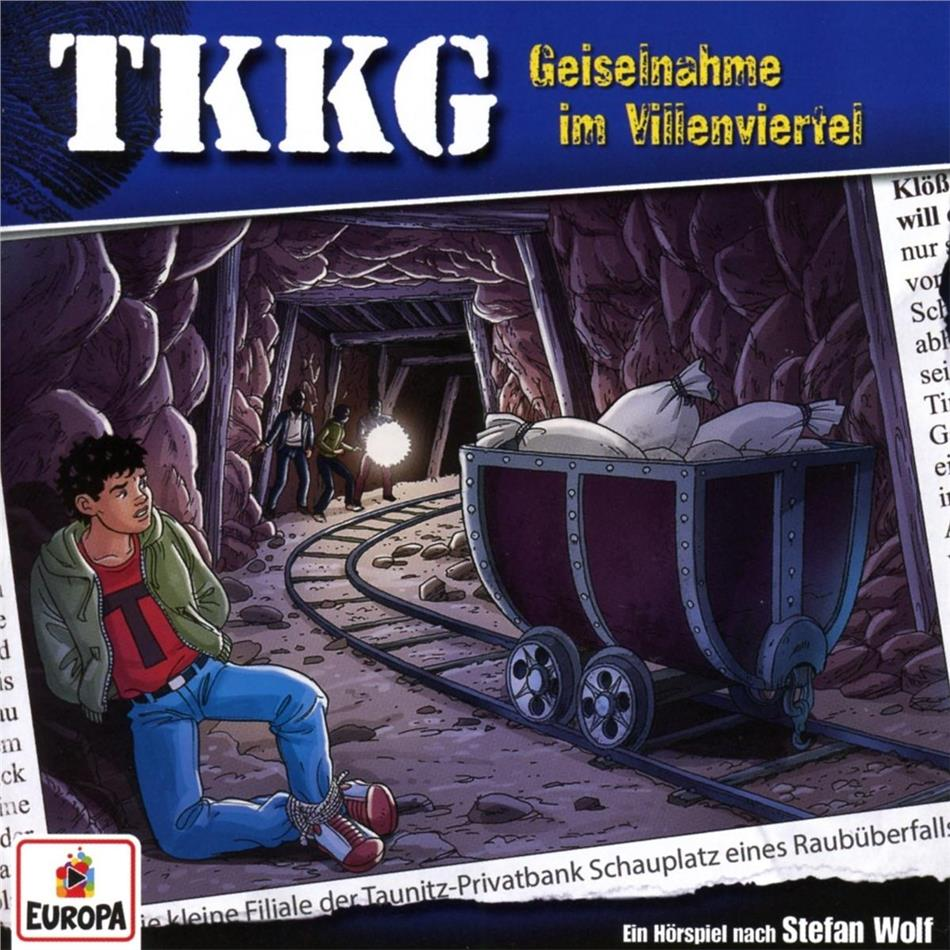 TKKG - 211/Geiselnahme im Villenviertel