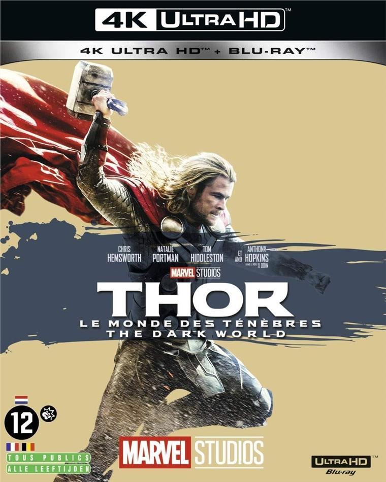 Thor 2 - Le monde des ténèbres (2013) (4K Ultra HD + Blu-ray)