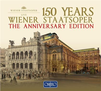 150 Years Wiener Staatsoper - The Anniversary Edition (22 CDs)