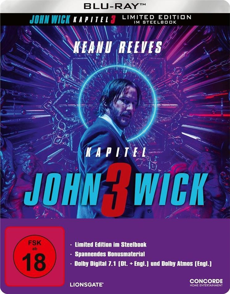 John Wick 3 - Parabellum (2019) (Limited Edition, Steelbook)