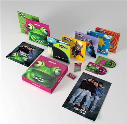Lunapop - Squerez? (Super Deluxe Anniversary Edition, 12 CDs + 4 LPs + Audiokassette + Buch)