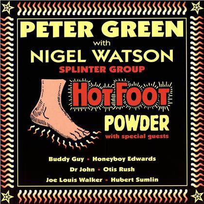 Peter Green & Nigel Wats - Hot Foot Powder (LP)