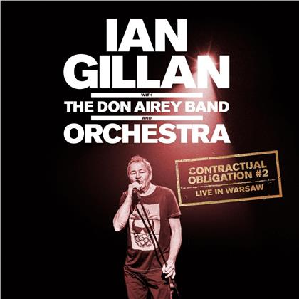 Ian Gillan & Don Airey Band And Orchestra - Contractual Obligation #2 Live In Warsaw (2 CDs)