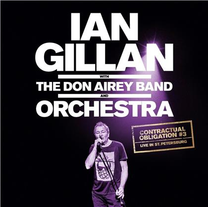 Ian Gillan & Don Airey Band And Orchestra - Contractual Obligation #3 Live In St. Petersburg (LP)