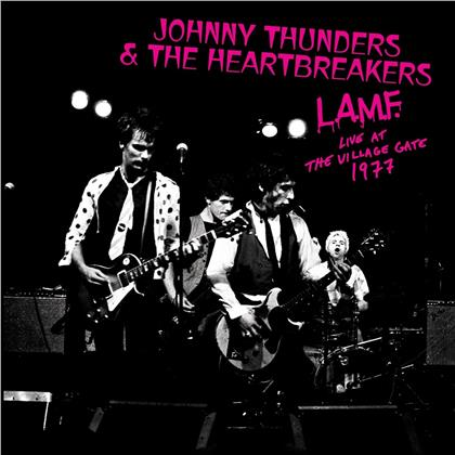 Johnny Thunders & The Heartbreakers - L.A.M.F. - Live At The Village Gate 1977 (2019 Reissue, Limited Edition, White Vinyl, LP)