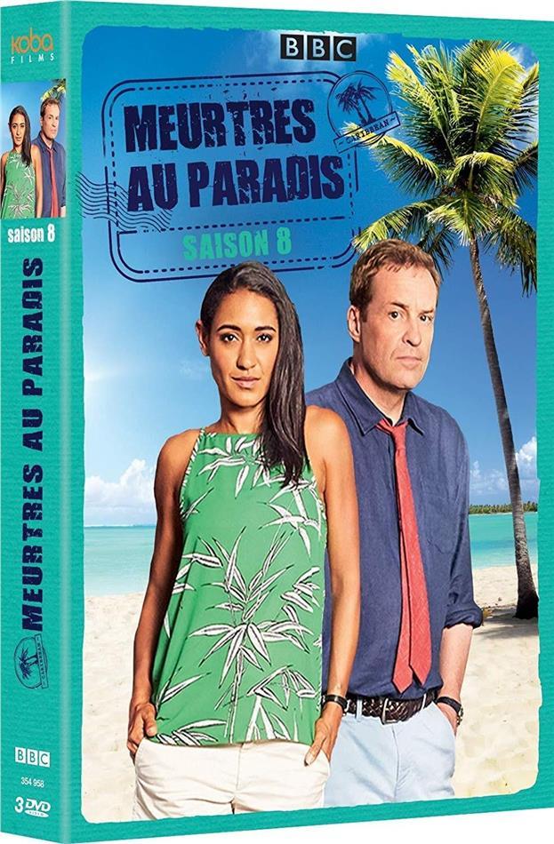 Meurtres au Paradis - Saison 8 (BBC, 3 DVDs)