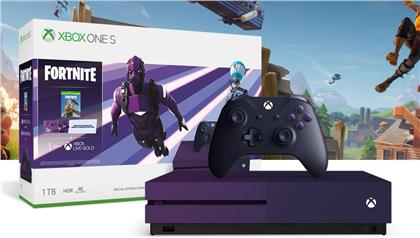 XBOX-One 1TB S Konsole - (Fortnite PURPLE Edition)