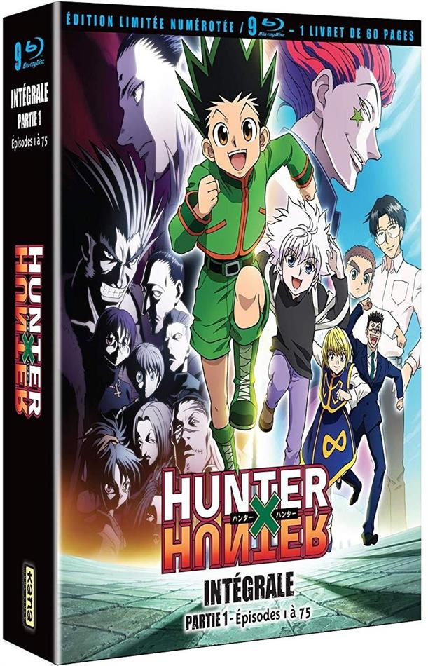 Hunter X Hunter - Partie 1 - Épisodes 1 à 75 (2011) (Limited Collector's Edition, 9 Blu-rays)